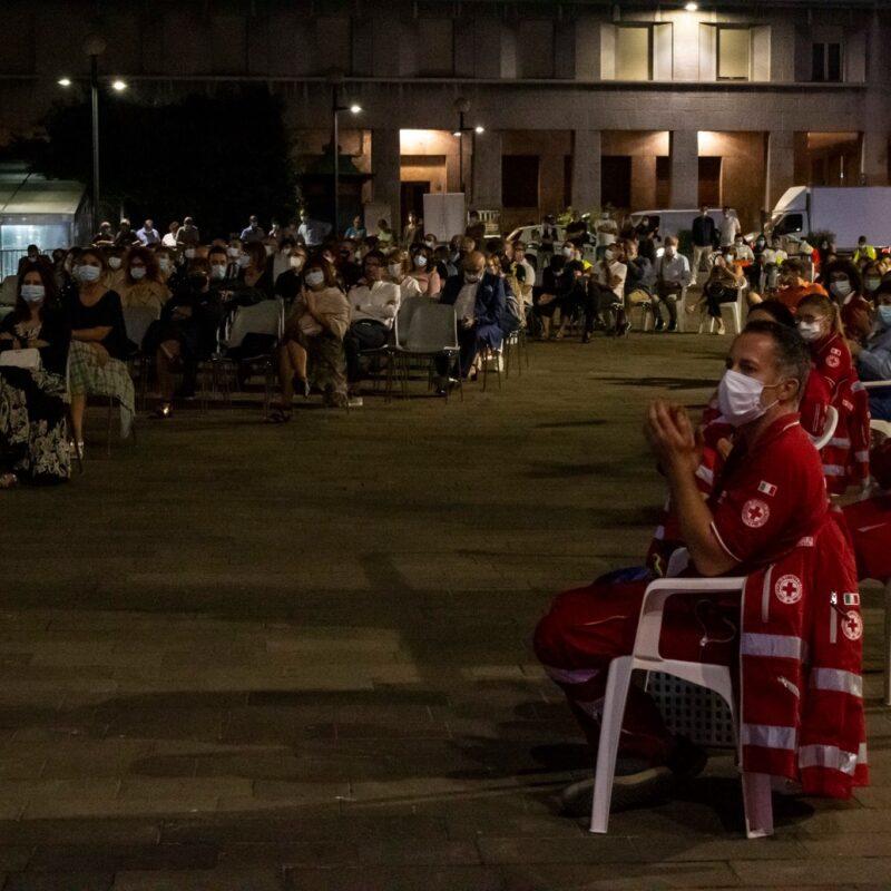 """Presentazione del docufilm """"A Viso Aperto"""" in Piazza Marconi a Cremona"""