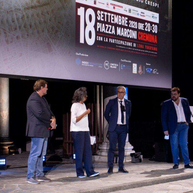 """I protagonisti della serata dedicata alla presentazione del docufilm """"A Viso Aperto"""""""