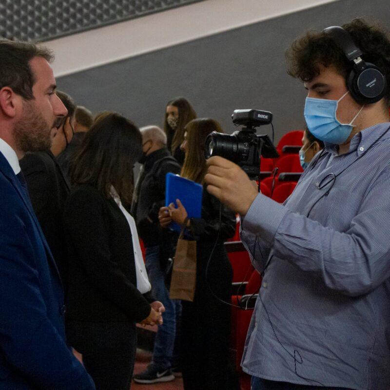 """Intervista al sindaco di Cinisello Balsamo Giacomo Ghilardi durante la presentazione del docufilm """"A Viso Aperto"""""""