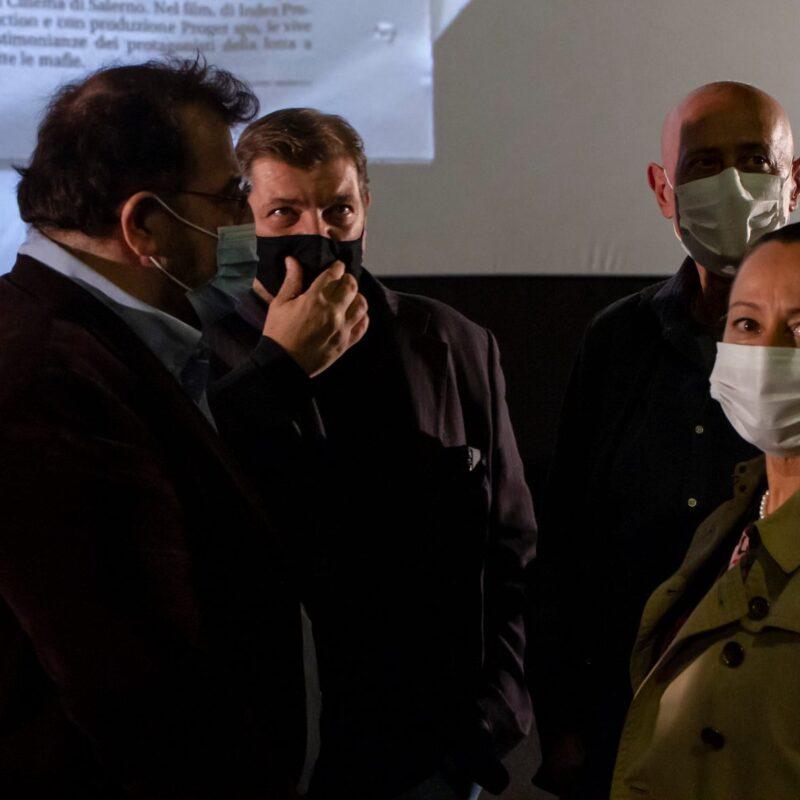 """Presentazione del docufilm """"A Viso Aperto"""" presso il Cinema The Space a Roma"""