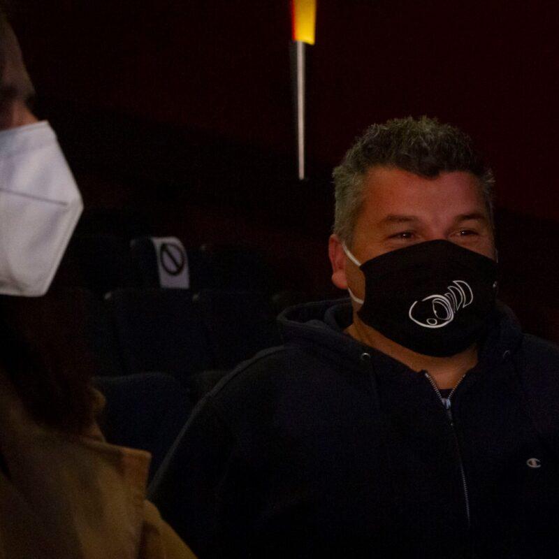 """Alessandro Rea (Emergency Group) durante la presentazione del docufilm """"A Viso Aperto"""""""