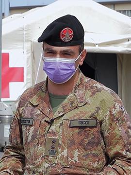 Michele Ricci - Tenente Colonnello Esercito
