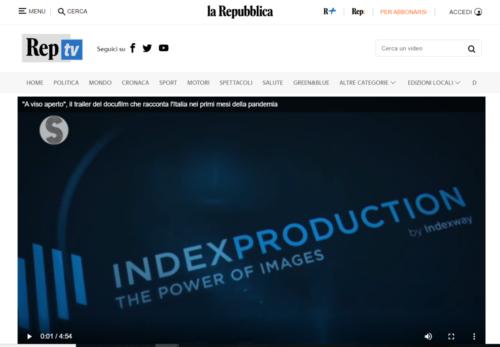 La Repubblica Tv: A viso aperto il trailer del docufilm che racconta l'Italia nei primi mesi della pandemia